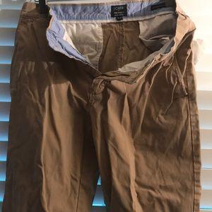 J. Crew men's khaki pants